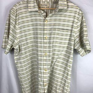 Mens Tommy Bahama button down shirt size L